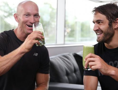 AFL Swans captain shares his health & fitness tips