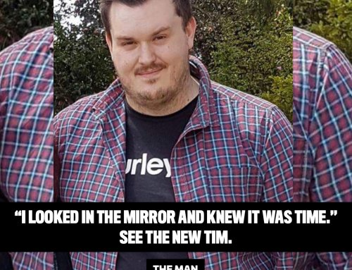 Tim took charge of his life and lost 19kg!