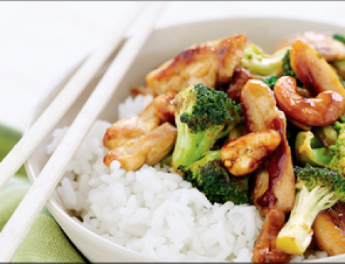 Satay Chicken & Broccoli Stirfry