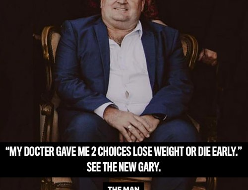 A heart attack motivated Gary to change his life, losing 38kg!