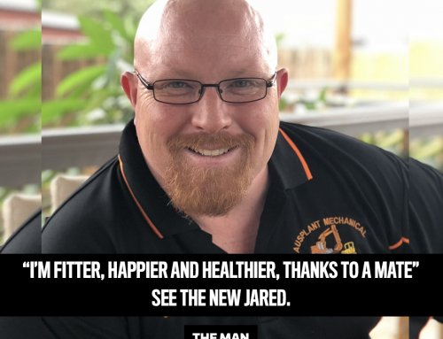 A friend's weight loss success motivated Jared to lose 22kg!