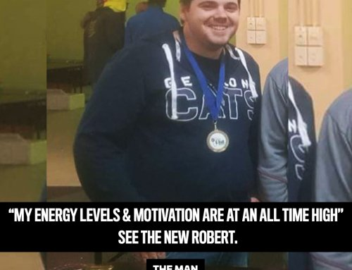 Robert lost 27kg to be the best dad he could be.
