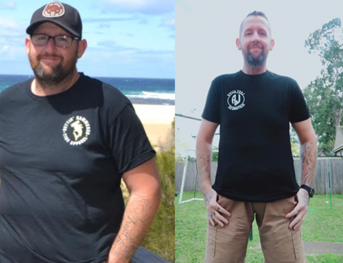 Benny regained his energy and lost 35kg!