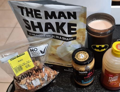 The 'You Gotta Be Nuts' Man Shake
