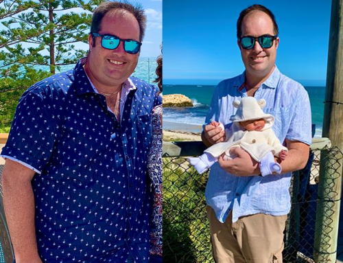 Andrew Was Motivated By The Birth Of His Daughter And Lost 32kg