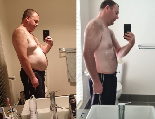 Jarrod Lost 22kg To Be There For His Kids