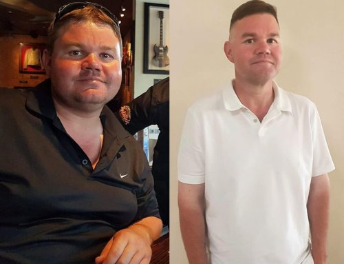 Mark lost a huge 47kg and is a new man!