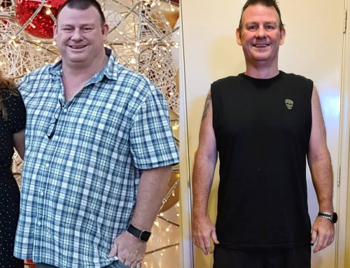 Steve lost 32kg after he ran out of options