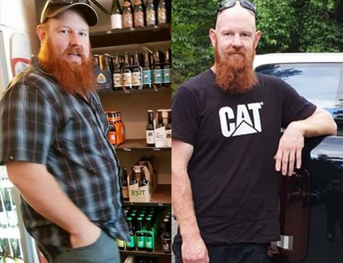 Bradley found himself after Lost 48kg