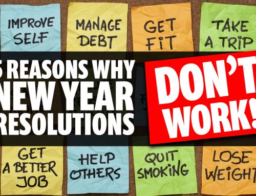 Why New Year's resolutions DON'T work.