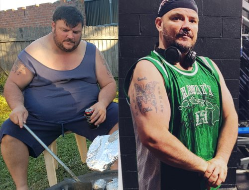 Daniel lost 52kg for his family