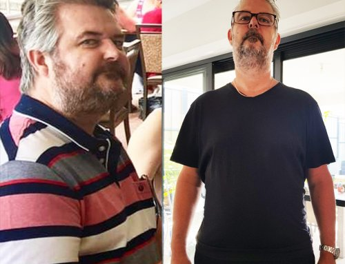 Jeff lost 29kg after seeing the Dr