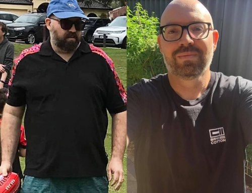 Murray lost 17kg in 3 months!