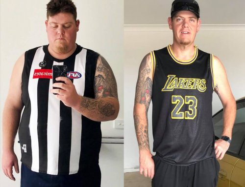 Gav lost an incredible 65kg!