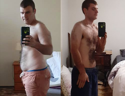 Bryce lost 25.1kg and gained his confidence.