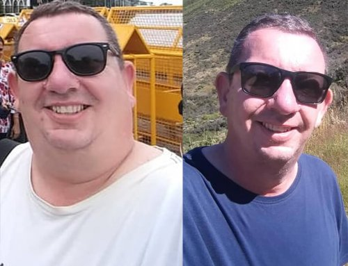 Roger lost 38kg and found his confidence!