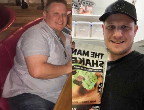 Justyn lost 25kg for his family.