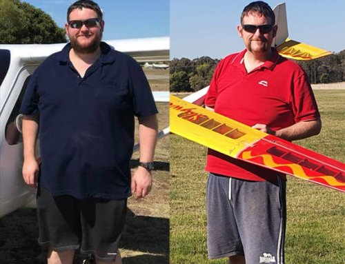 Wayne lost 40kg and followed his dream!