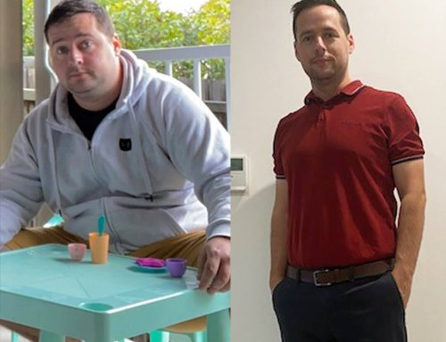 Chris lost 36kg and overcame his excuses!
