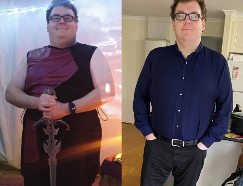 Nick just wanted to be happier so he lost 33kg!