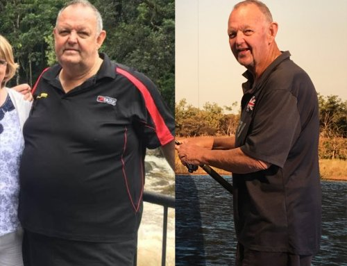 Kerry lost 40kg at 68 years young!