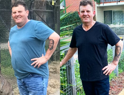 Jason got himself out of a rut and lost 26kg