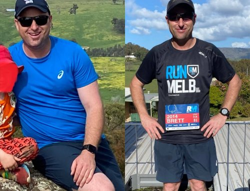 Brett lost 15kg and ditched the dad bod.