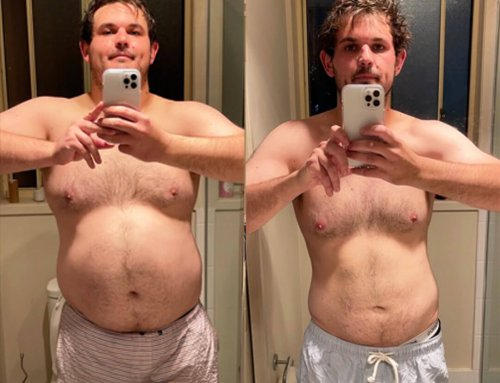 Tim turned everything around and lost 30kg